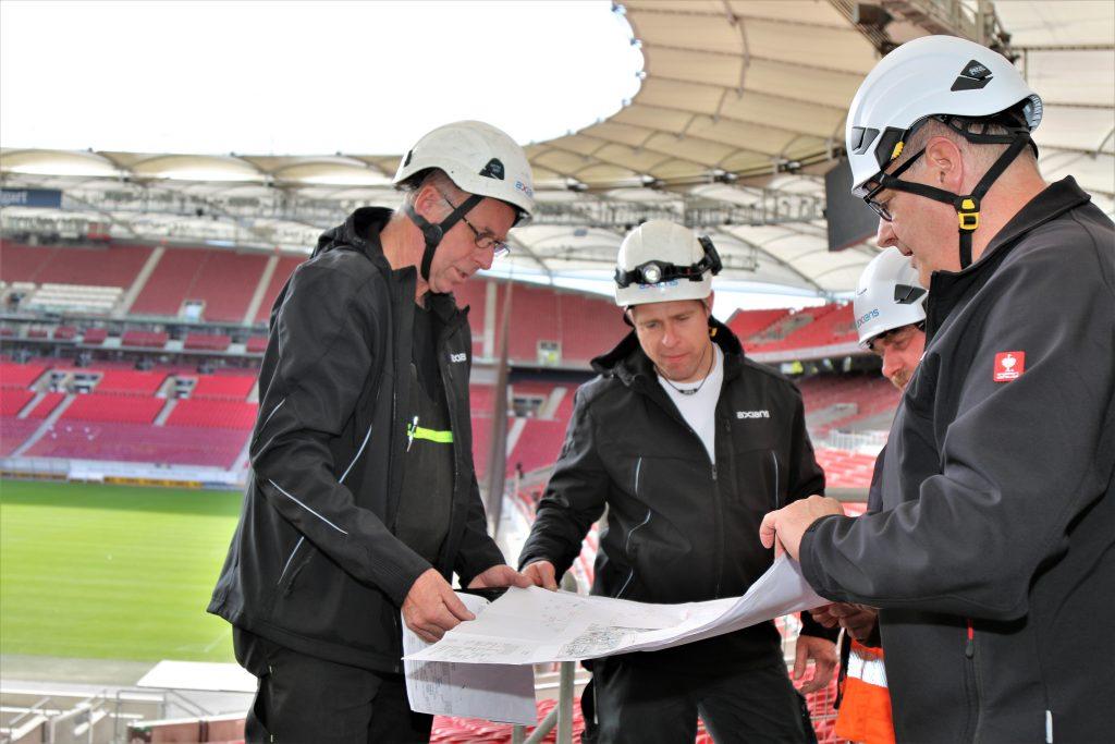 Planung 5G Mobilfunk im Stadion