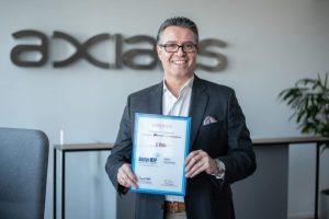 Jacques Diaz, CEO Axians Deutschland - Spitzenplatzierung bei der Wahl zum besten Managed Service Provider 2021