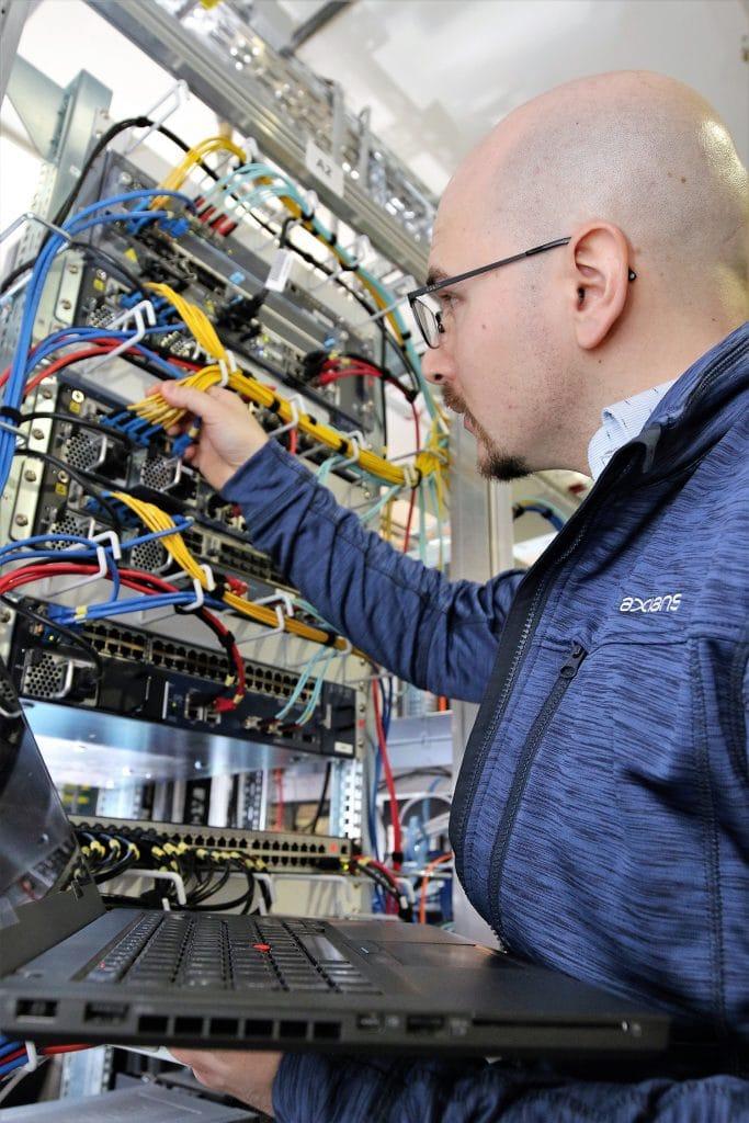 Windcloud Rechenzentrum Routing Infrastruktur